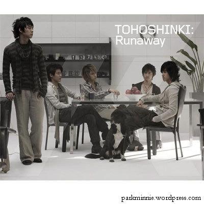 dbsk - yoochun runaway album cover