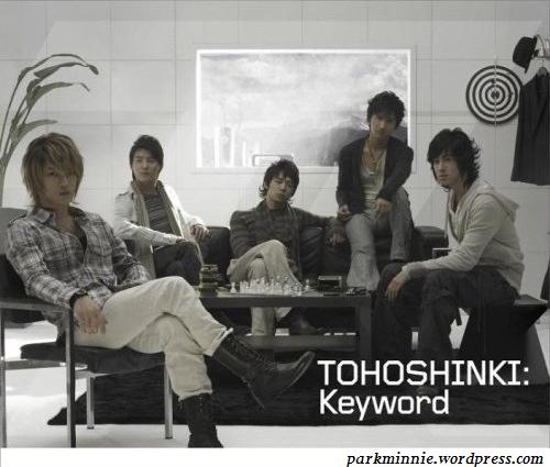 tohoshinki keyword album cover