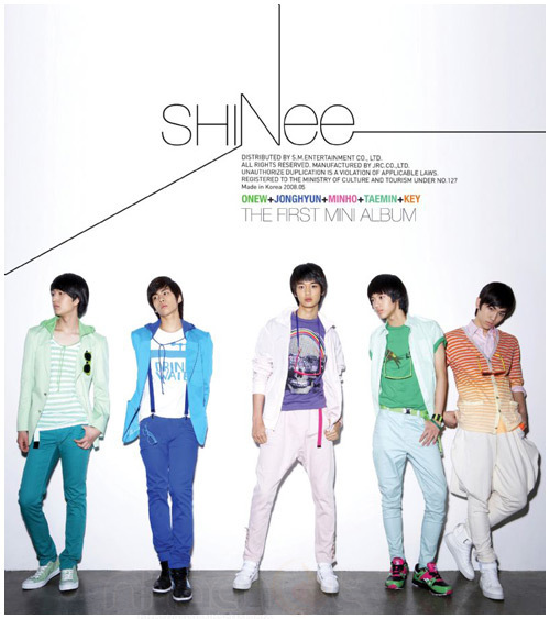 shinee - 1st mini album cover