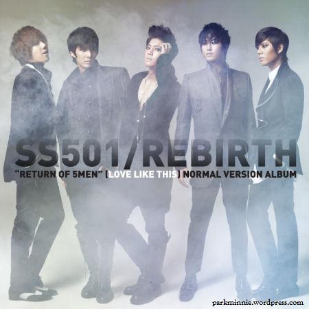 SS501 - Rebirth cover
