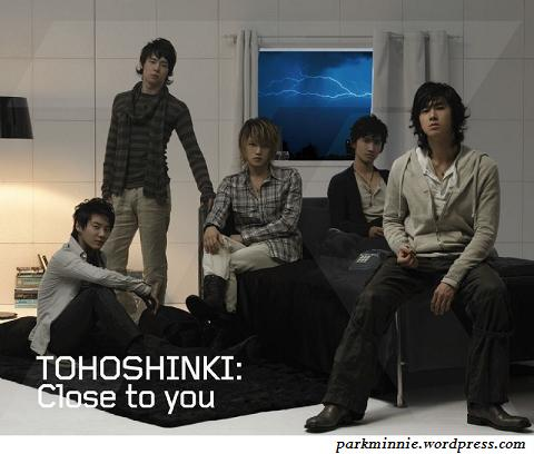 close to you tohoshinki album cover