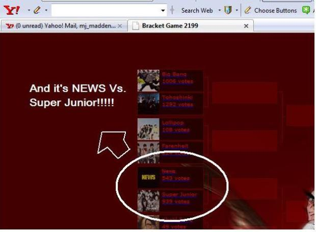 news vs. super junior