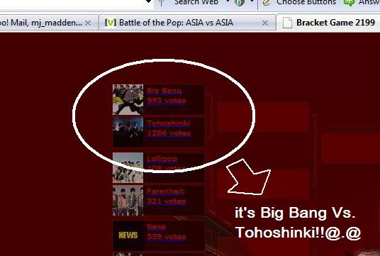big bang vs. tohoshinki