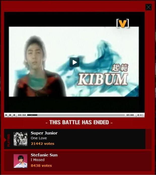 battle of the pop final result