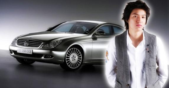 leeminho new car 2