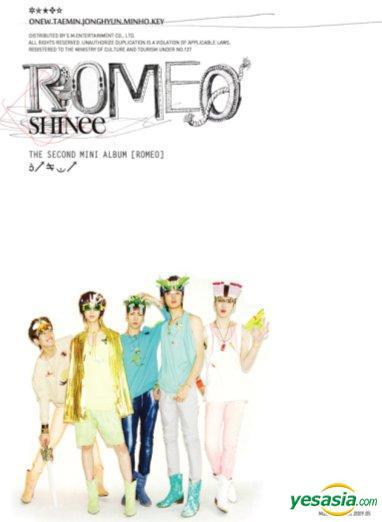 shinee romeo album cover