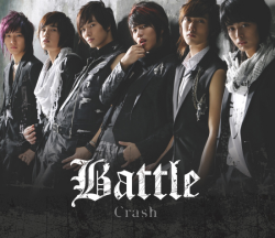 battle - crash album cover