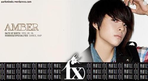 f(x) profile - amber