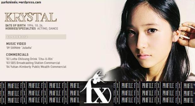 f(x) profile - krystal