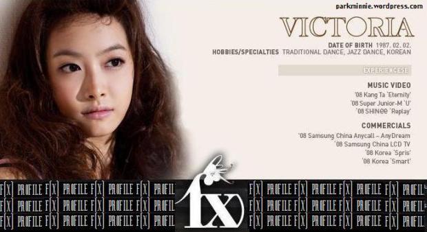 f(x) profile - victoria